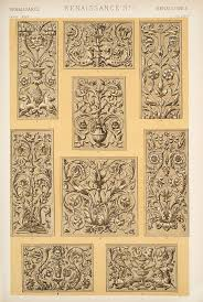 decorative arts the grammar of ornament renaissance ornament