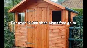 free shed plans 12 x 16 video dailymotion