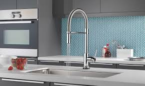 touch2o kitchen faucet delta faucet trinsic pro single handle pull kitchen faucet