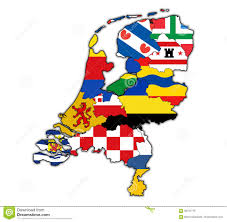 Map Of Netherlands Map Of Provinces Of Netherlands Stock Illustration Image 68737778