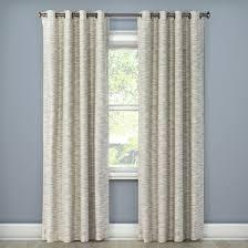 Eclipse Nursery Curtains Tara Stripe Light Blocking Curtain Panel Ivory 50