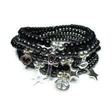 black onyx charm bracelet images Jojo beads jacy jools jpg