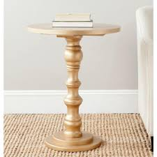 Target Gold Side Table by Table Surprising Petrified Wood Pedestal Table Santa Barbara