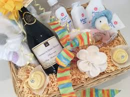 baby shower basket baby shower basket luxury personalised prosecco gift
