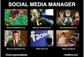 Meme Media - life of a social media manager funny i have a pc