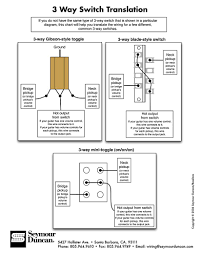 wiring diagram 3 way switch translation and gibson style toggle for
