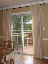 Patio Door Curtain Rod Sliding Glass Door Curtain Rod Without Center Support Sliding