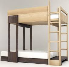 Bunk Bed With Open Bottom Modern Bunk Beds For Popsugar Within Bed Adults