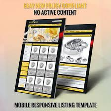 professional ebay store u0026 listing auction html template for