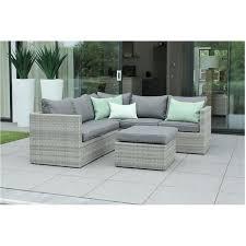 canape resine exterieur mobilier de jardin en résine tressée design gris beige zelie 6