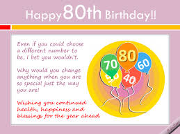 birthday cards for 80 year olds what to write in an 80th birthday