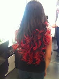 how to put red hair in on the dide with 27 pieceyoutube tempted to put red tips in my hair o hair and beauty