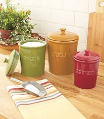 Red Kitchen Canisters Set by 100 Pig Kitchen Canisters Kitchen Canister Sets Unusual