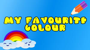 favourite colour children s color song learn all the colors my favourite