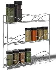 Spice Rack For Wall Mounting Silver Wire Wall Mount Spice Rack In Spice Racks
