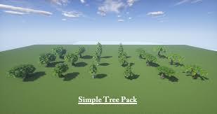 simple tree pack minecraft market