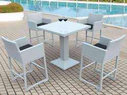 High Patio Dining Set High Dining Sets Patio Furniture End Top Set Outdoor Chairs Chair