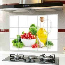 catelles cuisine chaude avion stickers muraux décor à la maison cuisine carrelage