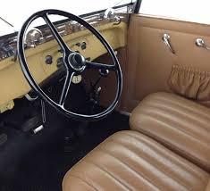 Phaeton Interior Classic Car Auctions