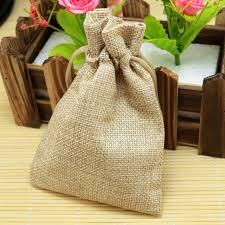 burlap drawstring bags 10pcs 13 18cm color jute bag burlap drawstring gift bags