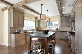 walnut butcher block in prize winning kitchen design blog