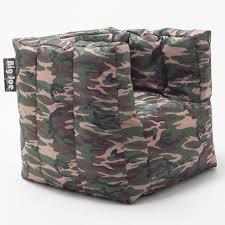Big Joe Bean Bag Chair Zebra Big Joe Cube Bean Bag Chair Hayneedle
