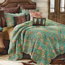 western bedding size prairie flower quilt lone