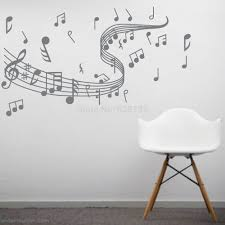 compare prices on vinyl music note wall stickers online shopping musical note wall decals creative vinyl wall art sticker decor dance in the wind music notation