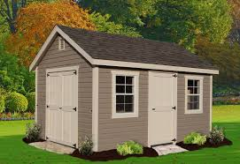heritage style outdoor shed
