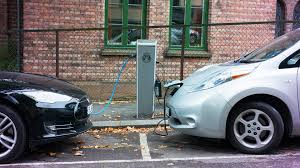 nissan leaf fast charger electric car charging infrastructure in the us is thriving study