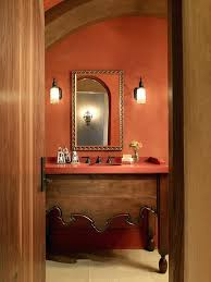 Mexican Bathroom Ideas Mexican Bathroom Ideas Splashy Coral Colored Artwork Vogue