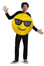 emoji costume emoji costume one size chest size 38 52 clothing