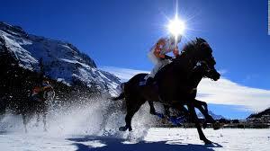 ferrari horse ferrari races a horse drawn chariot on ben hur set cnn