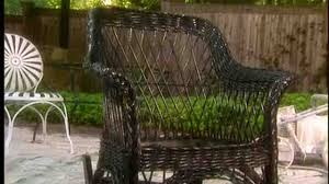 video painting outdoor furniture wicker martha stewart