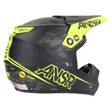 answer motocross helmets answer new 2017 mx ansr evolve 3 mips green camo matte black