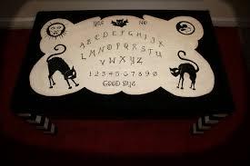 ouija coffee table unique ghost house art design tattoo ouija