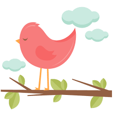 bird in a tree svg scrapbook cut file clipart files for
