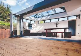 Cheap Bi Fold Patio Doors by Add A Stylish Energy Efficient Roof Lantern Skylight To Your Home