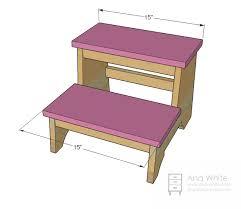 restoration hardware step stool baby child weathered stool 5 jpg