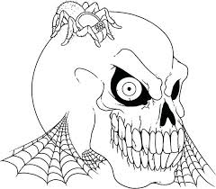 coloring pages printable for halloween spiders coloring pages smartgoalsbook info