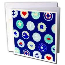 Nautical Themed Christmas Cards - buy nautical christmas greeting cards 12 cards and envelopes