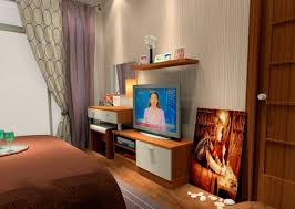 Bedroom Tv Unit Furniture Practical And Minimalist Look Of Wall Mounting Television Seaside