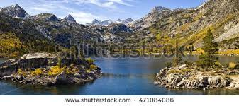 lundy lake lundy canyon fall colors stock photo 132538544