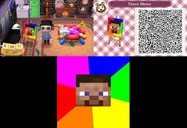 Animal Crossing New Leaf Memes - animal crossing new leaf steve head meme by raquinze on deviantart