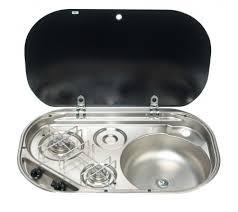 caravan sink with lid smev 2 burner hob sink glass lid van life pinterest mercedes