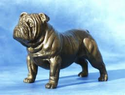 boxer dog statue the english bulldog shop figurines sculptures statues