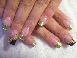 white and gold nail design image collections nail art designs