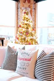 Small Decorative Christmas Pillows by Mad For Plaid Christmas Tree U0026 Gift Wrap U2014 Me And Mr Jones