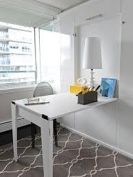 Small Folding Desks Space Saving Hideaway Desks For Small Apartment Designs