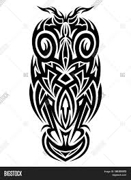tribal owl tattoo tattoo tribal owl tribal tattoos art tribal tattoo vector